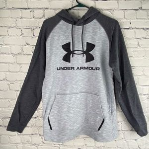 Men's Gray Under Armour Sport Style Hoodie